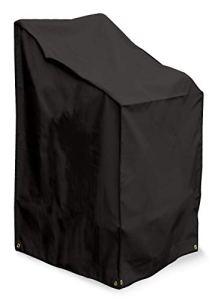 Bosmere D570 Storm Black Housse pour Chaise Pliante Empilable Noir 61 x 68 x 107 cm