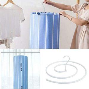 Cintre De Couverture en Forme De Spirale | Crochet Rond Rotatif De Séchage des Vêtements, Cintre D'intérieur pour La Maison