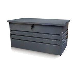 Coffre de rangement jardin en métal 100 x 61 x 62