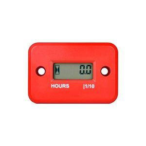 Compteur horaire inductif numérique RunLeader, Compteur horaire de maintenance pour tondeuse à gazon de bûches marin Moto marine à inverseur(HM006A-RE)