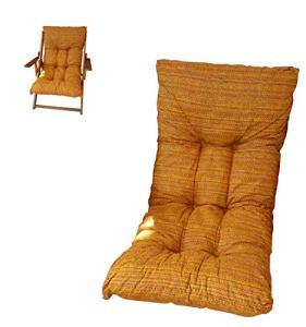 Coussin rembourré de rechange pour fauteuil et chaise longue, avec tissu anti-déchirure