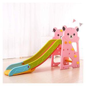 Diapositives bébé for enfants en bas âge, Structures intérieur Play avec Swing, Porte de football, de basket-ball stand, batte de baseball, peut être utilisé avec Piscines à balles toboggan interieur