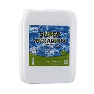 EDG Super Anti Algues Piscine – Bidon 5 litres – Effet Curatif by AQUALUX