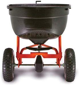 Épandeur rotatif Trailer Orange Trailer Machine d'engrais durable,Orange