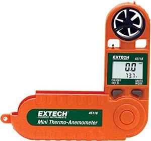 Extech 45118 Enregistreur d'impression des données avec anémomètre/psychromètre