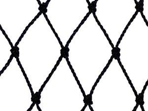 Filet de volière – Maille de 60mm Noir 12.5m x 5m