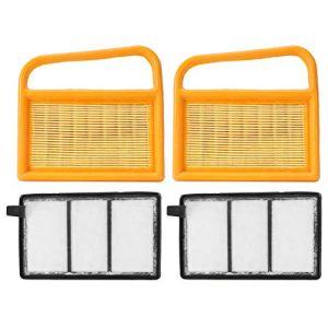 Filtre à Air pièce de Rechange Accessoire Ajustement élément Moteur Remplacement pour tondeuses Filtre Stihl TS410/TS420/TS480i/TS500i tondeuses