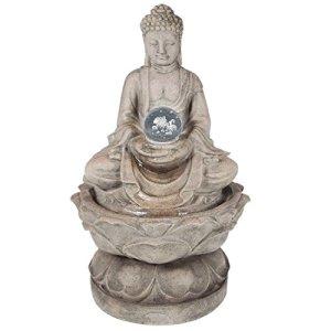 Fontaine Bouddha Médium Avec Lumière LED