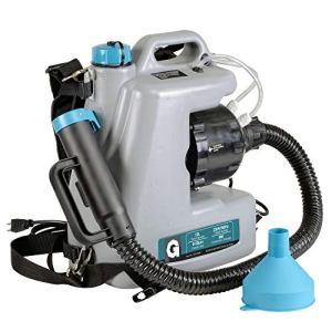 G Fogger Machine ULV Électrique Pulvérisateur Désinfection Spray Machine Ultra Fine Atomizer Sprayer 1400W 230V Sprüher 12L 15GPH Atomiseur