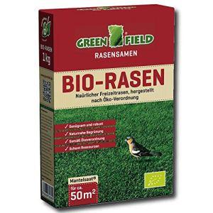 Greenfield 62161 Bio-Rasen 1 kg pour Env. 50 Qm