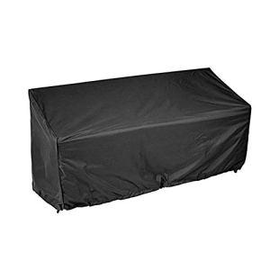 Housse de protection pour banc de jardin 2/3/4 places – Imperméable et anti-UV – Housse de protection pour chaise longue d'extérieur – Avec cordon de serrage et sac de rangement