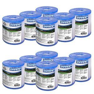 Intex Development Cp., Ltd. Lot de 12 cartouches filtrantes type H