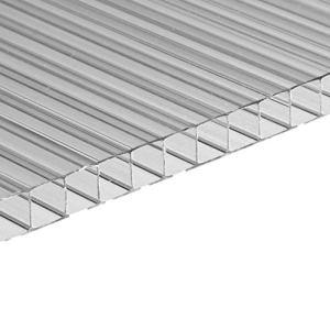 KESSER® Lot de 14 plaques creuses en polycarbonate 4 mm | 10,25 m² | 10,25 m² | 1210 x 605 | Plaque de serre | Plaque de serre | Résistant aux chocs et aux UV | Pour serre de jardin Carports etc.