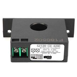 LKAIBIN Capteur de courant, SZT20-CH-420E Capteur de courant émetteur transformateur capteur de courant alternatif Convertisseur 0-200A
