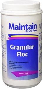 Maintain Floculant granulaire pour piscine 2,3 kg 2405M
