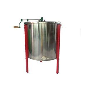 MINGMIN-DZ Durable Outils Apiculture, Beeware, 8-Cadre Manuel d'auto-Clamshell Honey Shaker, Seaux, Seaux Centrifugeuse