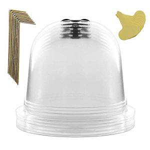 miss-an 26PCS Cloche De Jardin, Cloche Plastique Jardin – Plastique   Dome   Antigel   Réutilisable   Cloche Plante Hiver