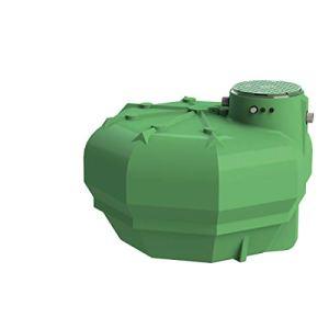 Multitanks – Cuve récupération eau de pluie Ecociter pré équipée – Plate 5000 L