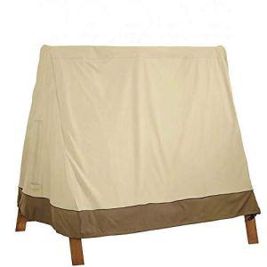 mychoose Housse de Protection imperméable pour balancelle de Jardin, hamac Suspendu, 180 x 137 x 170 cm, Beige