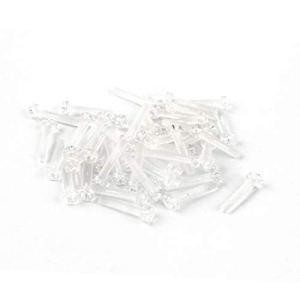 New Lon0167 M4 En vedette x 20mm efficacité fiable polycarbonate clair vis tête ronde Phillips 50pcs(id:f66 55 81 58d)