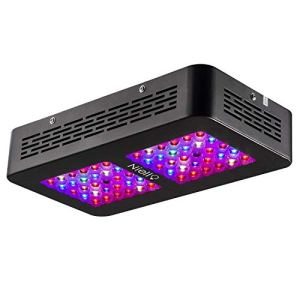 Niello 300W LED Grow lightà Double lentille Optique, Spectre Complet pour la Croissance et la Floraison des Plantes en intérieur with UV IR