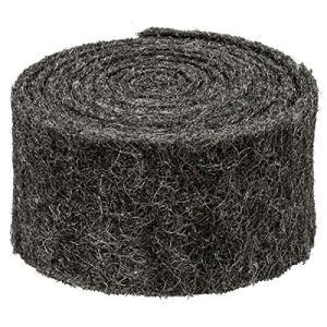 Rouleau de laine d'acier de 3 mètres de long | Répulsif pour rats | Répulsif contre les rats avec angle ondulé