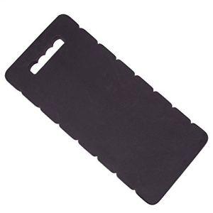Saicowordist Tapis de protection pour genoux – 1 pièce en mousse épaisse pour genoux de jardinage, yoga, exercice, protection du genou (noir)