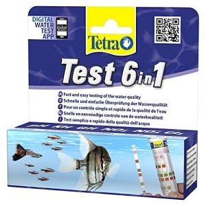 Tetra Test 6 in 1 10 Bandelettes, Multicolore