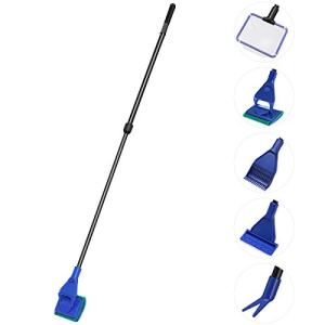 Ueetek – Kit d'ustensiles de nettoyage pour aquarium (5 pièces)