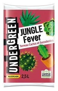 UNDERGREEN Jungle Fever Terreau Cactus et Succulentes, 2,5 L