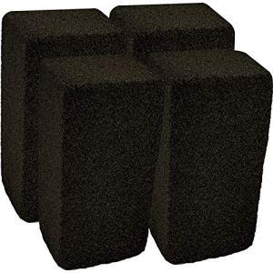 Upper Midland Products – Lot de 4 blocs de nettoyage en pierre ponce – Pour grilles, cuisinières et poêles