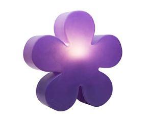 8Seasons Fleur lumineuse ø 40 cm Moderne 40 cm violet