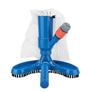Afittel0 Mini jet de piscine, nettoyeur de piscine, aspirateur sous-marin, raccord rapide pour piscine, spa, bassin, Pas de zéro, bleu, Taille unique