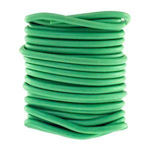 Amtech Am-Tech Cravate Flexible pour Plantes Vert 5 m, Rouge
