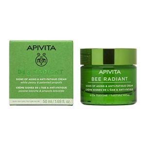 Apivita Bee Radiant anti-wrinkle and anti-fatigue cream – rich texture 50 ml