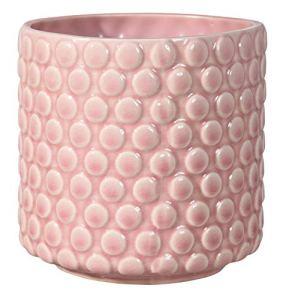 Bloomingville Pot de fleurs, Rose, Céramique
