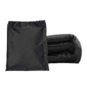 Car Covers Couverture de tondeuse à gazon de 54 pouces couverture de tracteur en plein air imperméable à l'eau Heavy Tissu Oxford Protection UV avec sac de rangement Waterproof/Snowproof/Sunproof/Dust