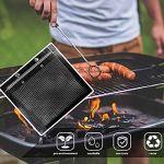 CHICIRIS Grill Mesh Bag BBQ Mesh Bag Non Stick Grill Mesh Bag High Temperature Resistant BBQ Bag(Style 2)