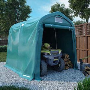 FAMIROSA Tente de Garage PVC 2,4×2,4 m Vert431
