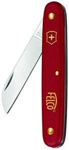 FELCO 11540106 Couteau à Manche en Nylon Tous usages, Red, 2,25-inches
