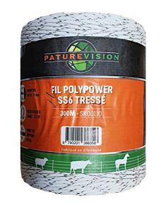 Fil PolyPower SS6 tressé – 300 m