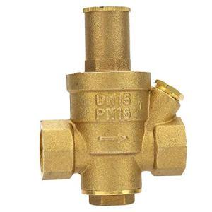 Fockety Simple à Utiliser 1 pièces vanne de régulation de Pression 1/2 Haute précision, vanne de régulation de Pression résistante à l'usure, Parc pour Usine de Jardin
