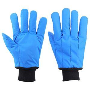 Gants de protection cryogéniques durables, protection contre l'azote liquide à basse température de résistance à la main -200 ° C à -360 ° C