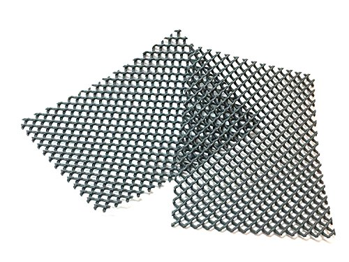 Grille d'aération pour l'aération des joints et la protection des trous d'aération entre les briques contre les abeilles, les guêpes, ou les souris (pour le post-éq) (100, 8×5,5cm)