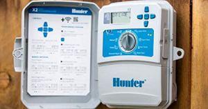 Hunter X2 401-4 Station – Extérieur/intérieur – Programmateur compatible WiFi module Wand (Non inclus)