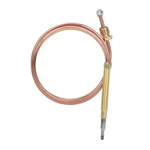 Junluck Fonctionne avec l'électrovanne Thermocouple de cuisinière à gaz Simple à Utiliser, Thermocouple à gaz, Kit de thermocouple pour Chauffe-Eau pour cuisinière à Induction pour cuisinière à gaz