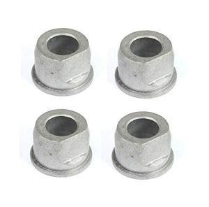 Lot de 4 roulements à bride (bagues) pour 9040H 532009040 Craftsman Poulan Husqvarna, bagues en métal, pas en plastique