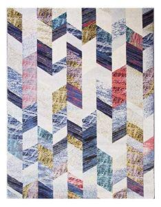 LYB Tappeto Super Soft e antiscivolo Chambre Ménagère Épaisse Tapis Doux De Chevet Salon Canapé Tapis Nordique Moquette Minimaliste Étudier Tapis De Table (Color : Blue, Size : 160 * 230CM)