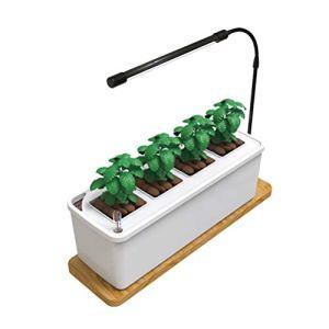 N A Équipement de Culture sans Sol, Pompe à Eau Intelligente de Niveau d'eau Visible de Spectre Scientifique de Machine de Plantation de légumes, boîte de Plantation de légumes hydroponique