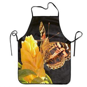NA Tablier réglable de Papillon Animal pour la Cuisine de Jardin de Cuisine Griller Les Femmes 's Hommes' Grand Cadeau pour Femme Dames Hommes Petit ami